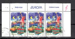 Servie 2010 Mi Nr 353, Children's Book, Europa, Set Van 3 - Servië