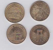 Lot De 4 Médailles  2013 -2014 Et 2012 - Monnaie De Paris