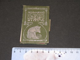 L AMIDO?N HOFFMANN EST GARANTI PUR RIZ-CALENDRIER PUBLICITAIRE 1909 - Calendriers