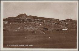 Royal Artillery Barracks, Steamer Point, Aden, C.1910s - Pallonjee, Dinshaw & Co RP Postcard - Yemen