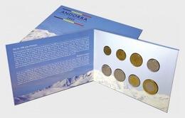 Liechtenstein 2005 Coin Card - Andorra –Euro Forerunner (2005) - Liechtenstein