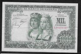 Espagne - 1000 Pesetas - 1957 - Pick N°149 - SUP - [ 3] 1936-1975 : Régence De Franco