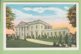 BATON ROUGE : Governor's Mansion. 2 Scans. Edition Kropp - Baton Rouge