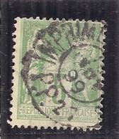 FRANCE Type Sage N° 106 - Cachet Des Imprimés - 1898-1900 Sage (Type III)