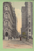 PITTSBURGH : Sixth Avenue Looking East From Liberty Avenue. 2 Scans. - Pittsburgh