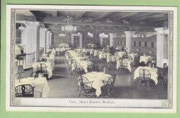 BUFFALO : Hotel Statler, Café. 2 Scans. - Buffalo