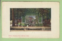 ATTLEBORO : Théâtre Talaquega Park. 2 Scans. - Etats-Unis
