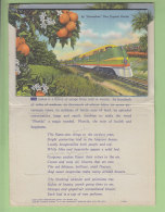 FLORIDA, The Tropical Wonderland : Carnet Postal Avec De Nombreuses Vues. 5 Scans. - United States