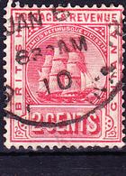 "Britisch-Guayana - Fregatte ""Sandbach"" (MiNr: 113) 1907 - Gest Used Obl - British Guiana (...-1966)"