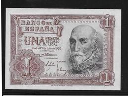 Espagne - 1 Peseta - 1953 - Pick N°144 - NEUF - [ 3] 1936-1975 : Regency Of Franco