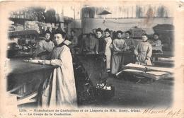 ¤¤   -   LILLE   -  Manufacture De Confections Et De Lingerie De MM. HAMY Frères  -  La Coupe De La Confection    -   ¤¤ - Lille