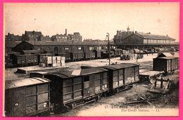 Roubaix - La Gare Des Marchandises - Train - Wagons - Animée - LL - Roubaix