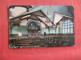Interior M.E. Church  Lansing   Michigan      Ref 2972 - Lansing