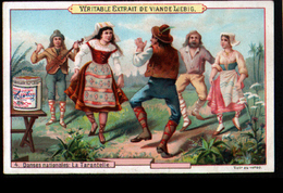 Chomo Liebig, S238, Danses Nationales, 4, La Tarentelle - Liebig
