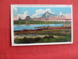 The Carquinez Highway Bridge Carquinez Straights - California > Ref 2973 - United States