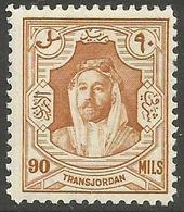 Jordan - 1930 Emir Al-Hussain 90m  MNH ** - Jordan