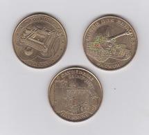 Lot De 3 Médailles 2012 - Monnaie De Paris