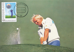 D34203 CARTE MAXIMUM CARD FD 2009 NETHERLANDS - GOLF GREG NORMAN CP ORIGINAL - Golf