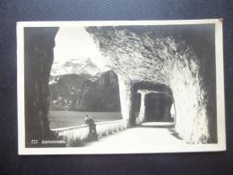 SWITZERLAND VINTAGE CARD AXENSTRASSE POSTMARK LUZERN 1926 - Switzerland