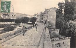 78-LIMAY- VUE SUR LE VIEUX PONT - Limay