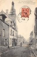 78-LIMAY- RUE DE L'EGLISE ET MAIRIE - Limay