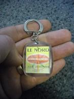1 PORTE CLEFS à Système Visiomatic ASSURANCE LE NORD (Paris 9°) - Images Bougent ! @ Vers 1965 - Porte-clefs