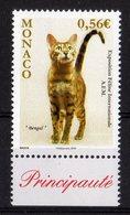 Monaco 2010 MNH Exposition Féline Internationale Katzen Cats - Rowland Hill