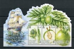"Pitcairn - Block Nr. 69 - ""Brotfruchtbaum"" ** / MNH (aus Dem Jahr 2015) - Pitcairn"