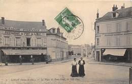 78-LIMAY- LA PLACE DU PONT-NEUF - Limay