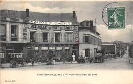 78-LIMAY- HÔTEL RESTAURANT DU PONT - Limay