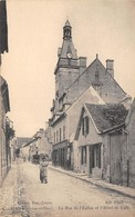 78-LIMAY- RUE DE L'EGLISE ET L'HÔTEL DE VILLE - Limay