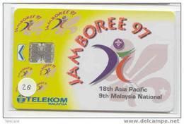 Padvinder - Scouting - Jamboree - Scoutisme - Scaut - Pfadfinder - Pfadi - Scout On Phonecard (28) - Telefoonkaarten