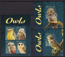 Del.1 - Palau 2014 Birds Owls MNH --(cv 22) - Birds