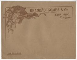 Commercial Cover (24.5x19cm) Portugal * Espinho * Brandão, Gomes & Cª Limitada - Reclame
