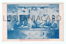 ABRANTES - Escritório Da Casa Bancária Mena & Pinto.  Carte Postale - Santarem