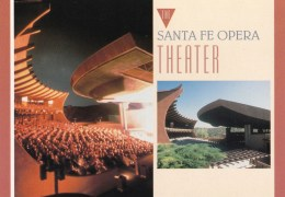 Santa Fe Opera Theater, New Mexico, USA Unused - Santa Fe