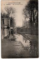 INNONDATIONS 1910 CORBEIL RUE DU GENERAL LUCOTTE - Corbeil Essonnes
