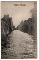 INNONDATIONS 1910 CORBEIL RUE GALIGNANI - Corbeil Essonnes
