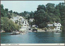 Bodinnick Ferry, Fowey, Cornwall, C.1970s - Judges Postcard - England
