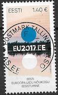 2017 Estland   Mi 892 Used   Vorsitz Estlands Im Rat Der Europäischen Union. - Europäischer Gedanke