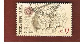 REPUBBLICA CECA (CZECH REPUBLIC) - 1995  EUROPA  -   USED - Europa-CEPT