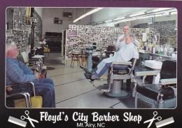 Floyd's City Barber Shop, Mt. Airy, North Carolina, USA Unused - United States
