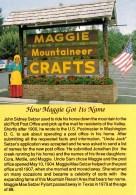 Maggie Mountaineer Crafts, Maggie Valley, North Carolina, USA Unused - United States
