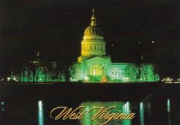 The State Capitol At Night, Charleston, West Virginia, USA Unused - Charleston