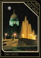 The State Capitol At Night, Charleston, West Virginia, USA Unused - - Charleston