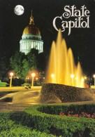 The State Capitol At Night, Charleston, West Virginia, USA Unused - - - Charleston
