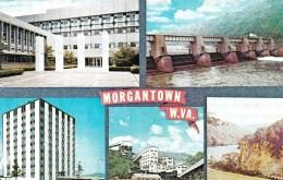 Morgantown Multiview, West Virginia, USA Unused - Morgantown