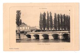Melun (77 - Seine Et Marne) Pont De Pierre - Militaria - Cachet Centre De TSF De Cesson (77) - Melun