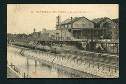 CPA:  71 - MONTCEAU LES MINES - LE PORT, CRIBLE N°1 - Montceau Les Mines