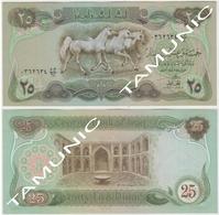 IRAQ 25 Dinars 1980 AUNC - HORSES - Iraq
